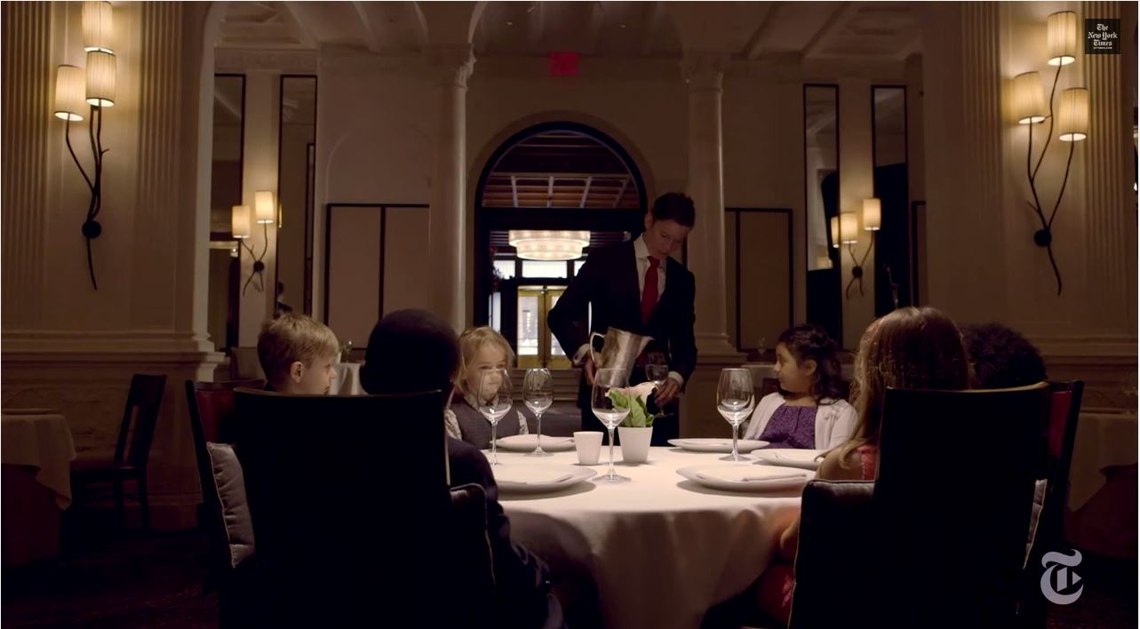 Second Graders Treated to Gourmet, Seven-Course Tasting Menu at Fancy New York Restaurant