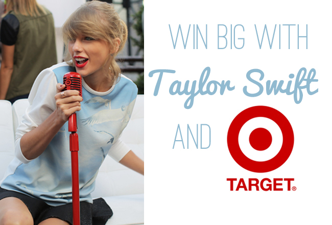 Win Big With Target And Taylor Swift!