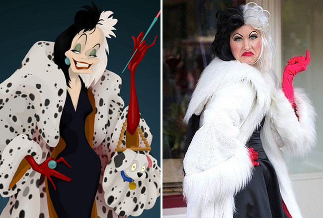 Kids Cruella Costume