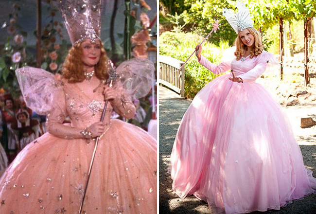 Classy mom costumes you can diy urbanmoms for Glinda the good witch crown template