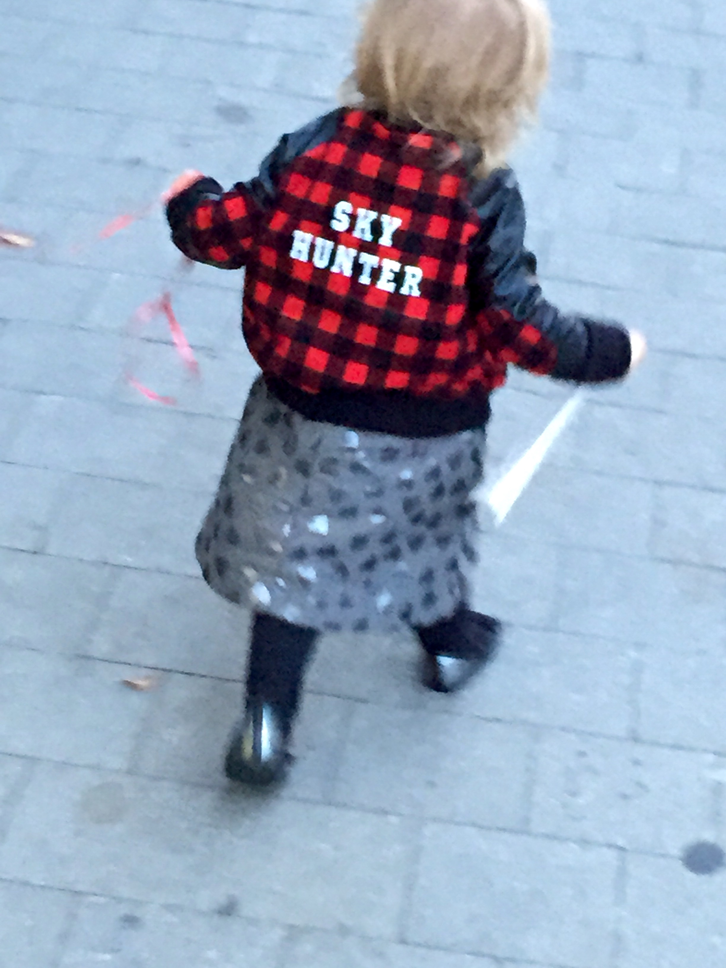 Urban Street Style: The Hipster Kid Bomber