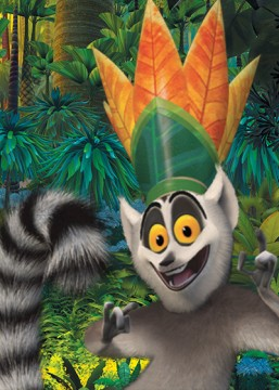All Hail King Julien. Netflix.