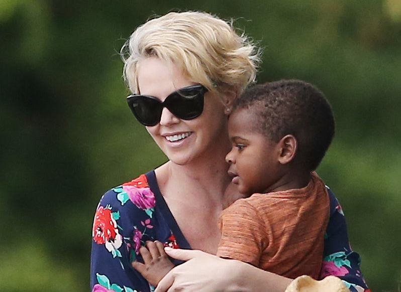 Hiker Calls Police On Charlize Theron's Tantruming Child