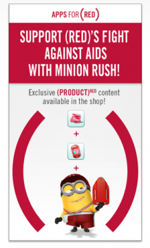 Despicable Me: Minion Rush for (RED)