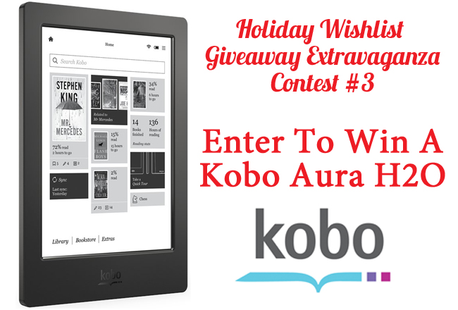 Enter For Your Chance To Win A Kobo Aura H2O