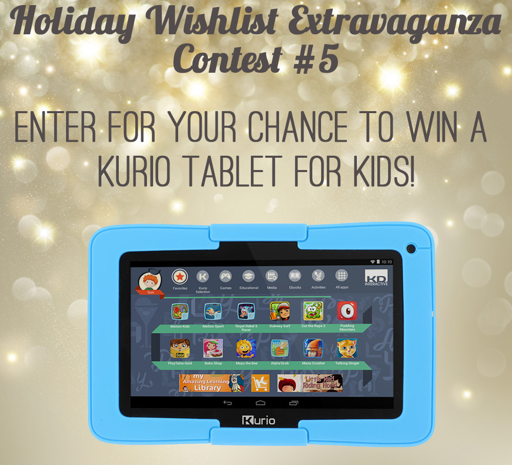 Enter For A Chance To Win A Kurio Kids Tablet