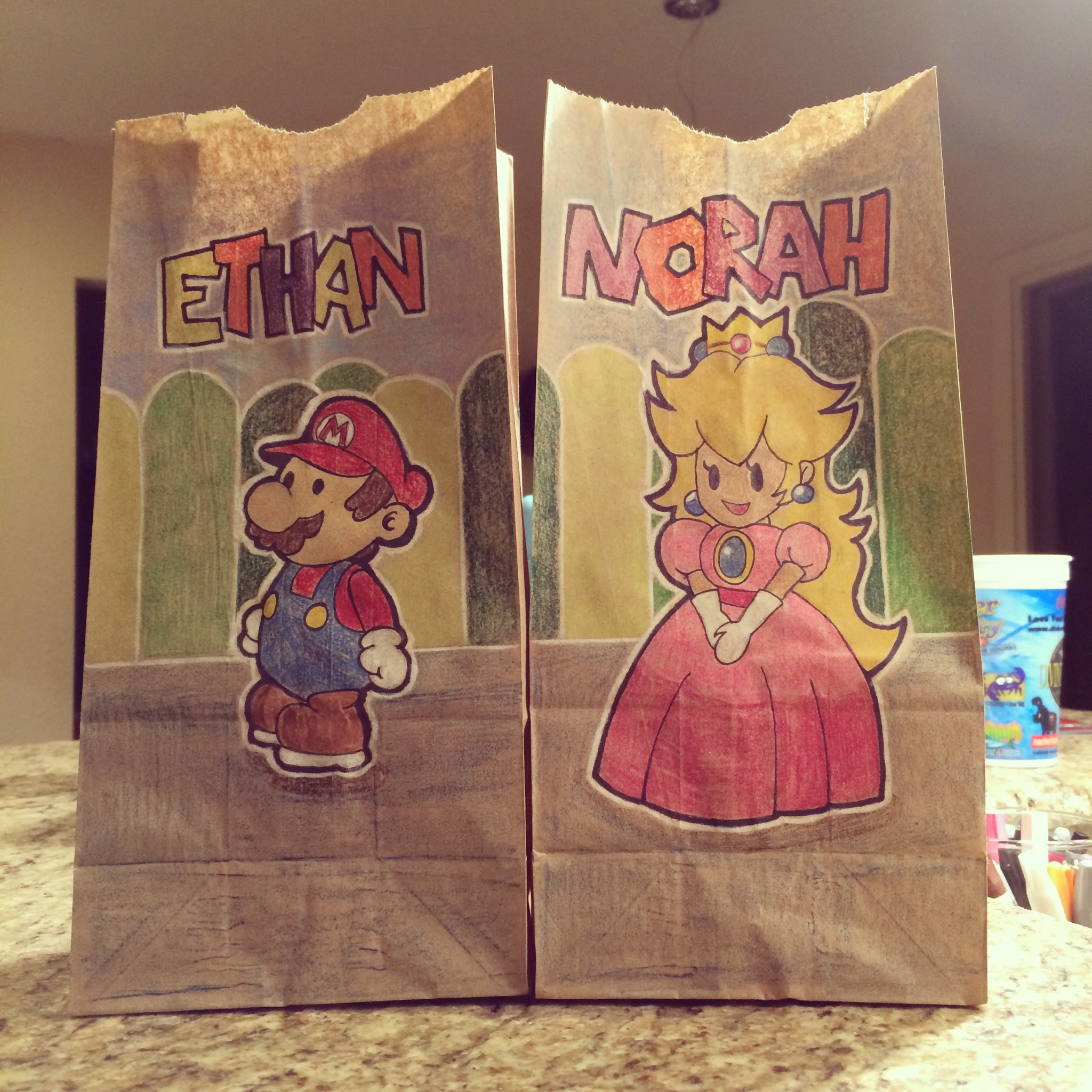 Mom Creates Awesome Lunch Bag Art For Her Kids