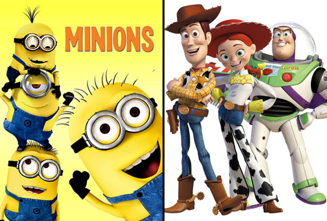 The Countdown Is On For New Minions & Toy Story Films