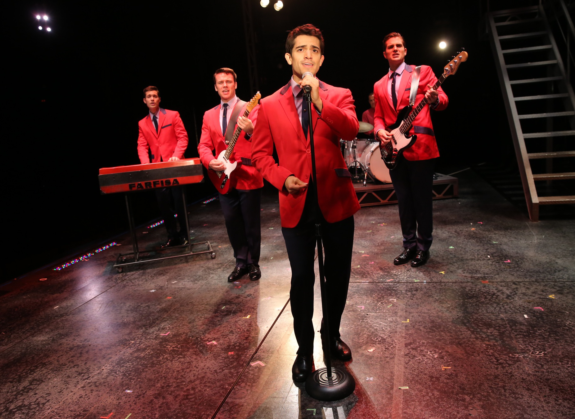 Jersey Boys Brings Iconic Tunes To Stage
