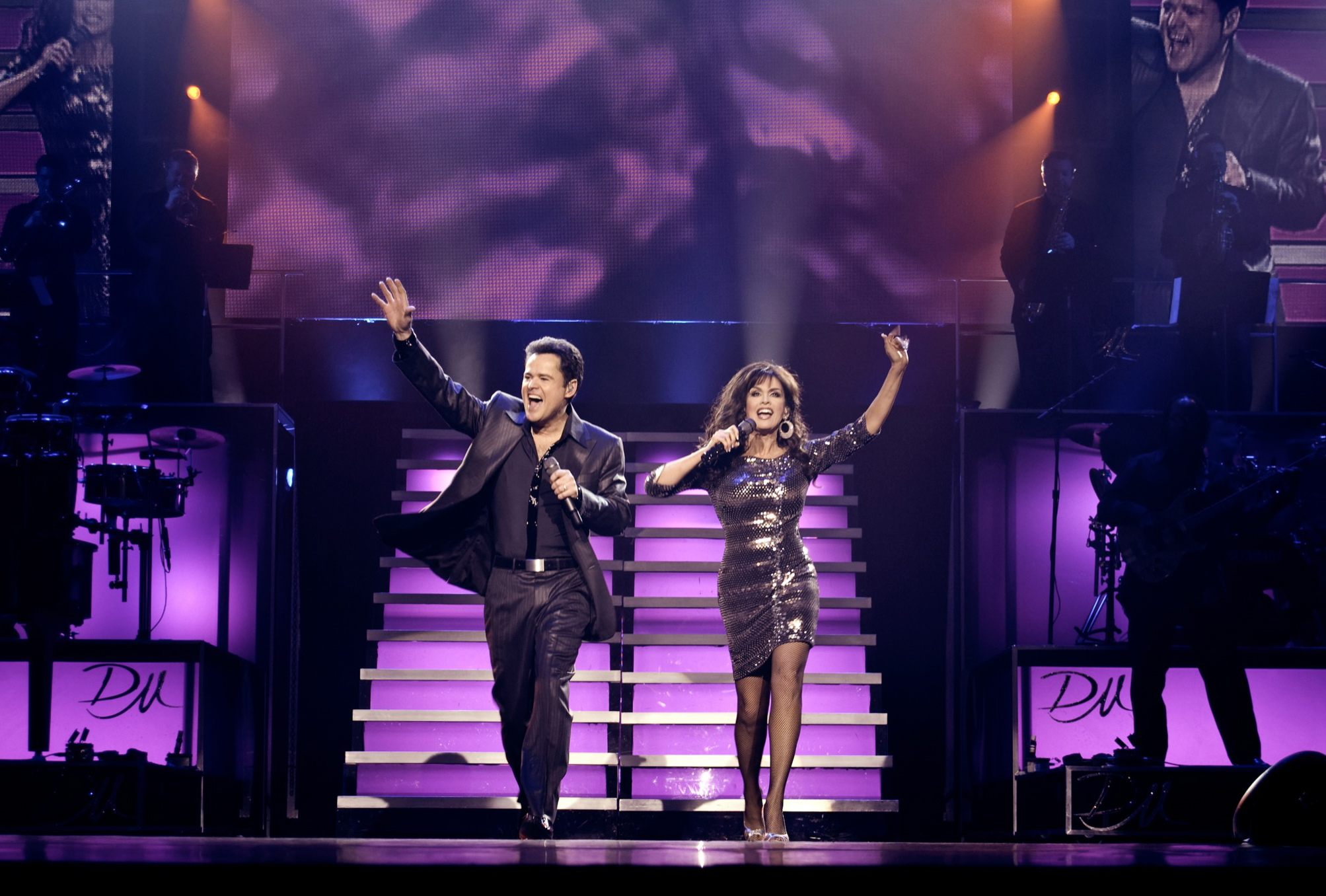 Donny & Marie Bring Christmas Fun To Toronto