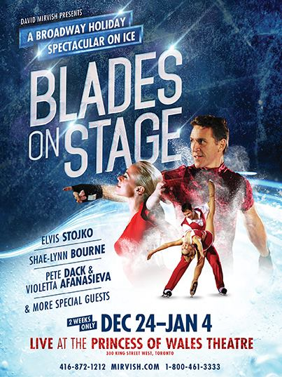 Mirvish Blades on Stage