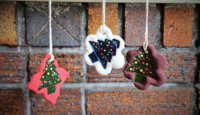 How To Make Salt Dough Christmas Ornaments