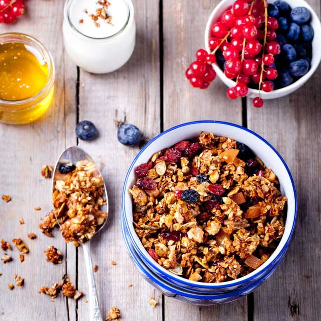 Gourmet Fruit and Nut Granola