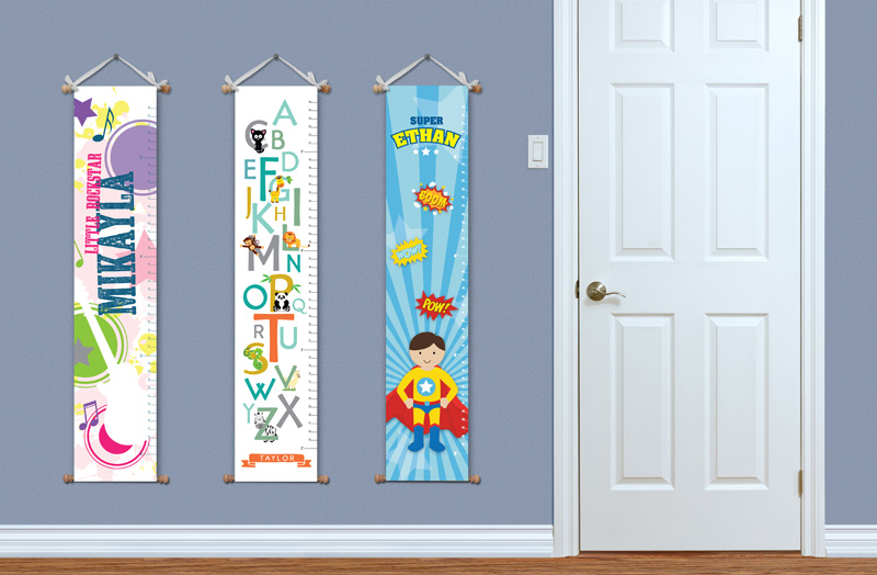 Enter To Win A Personalized Growth Chart From Impression Designs