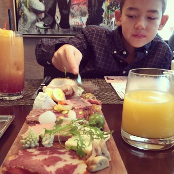 Brunch at Cafe Boulud, Four Seasons Hotel Toronto