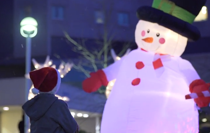 Watch This: Canadian Tire Brings Holiday Cheer To Children's Hospitals