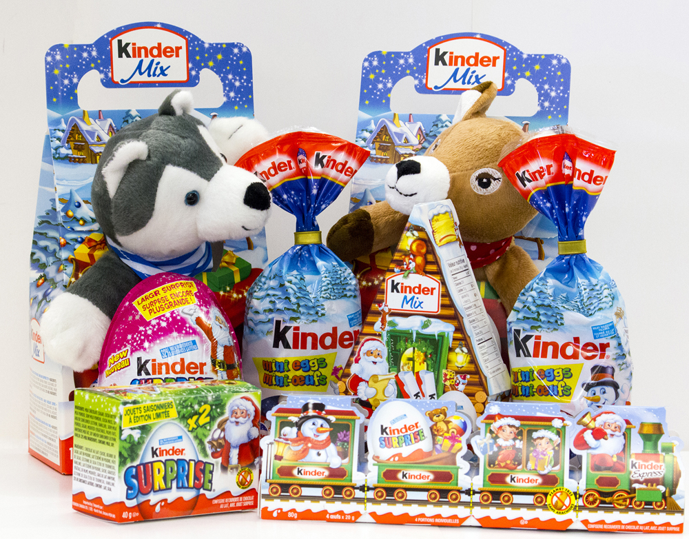 Enter For A Chance To Win A Kinder Surprise Prize Pack