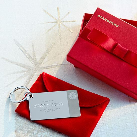Starbucks Silver Card Holiday 2014