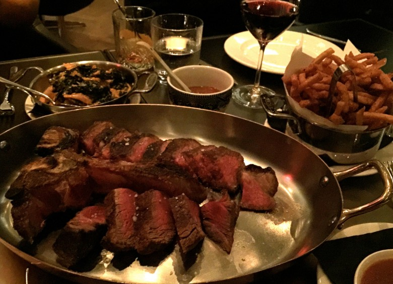 NAO steakhouse. Photo credit: Sonya Davidson