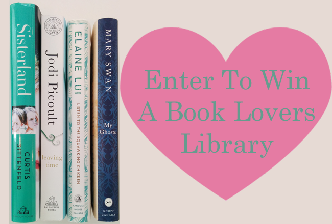 Enter To Win A Book Lover's Library