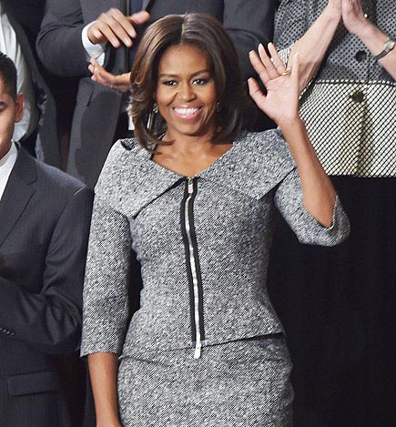 Michelle Obama Dresses As The Good Wife