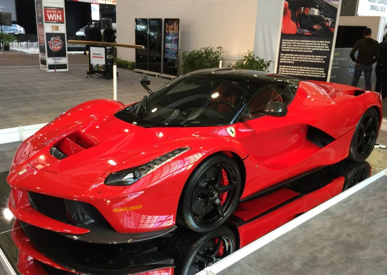 Ferrari LaFerrari at CIAS2015/ Photo Credit: Sonya Davidson