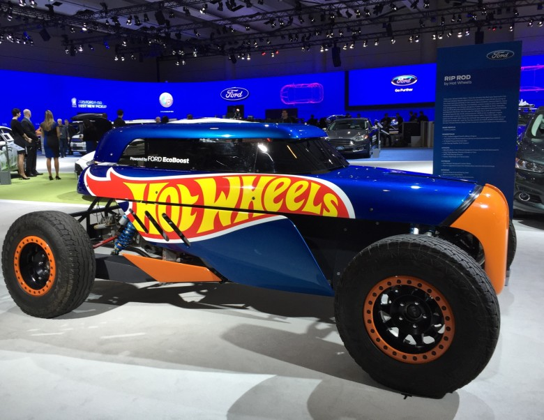 Hot Wheels Rip Rod at CIAS 2015 / photo credit: Sonya Davidson/Urbanmoms