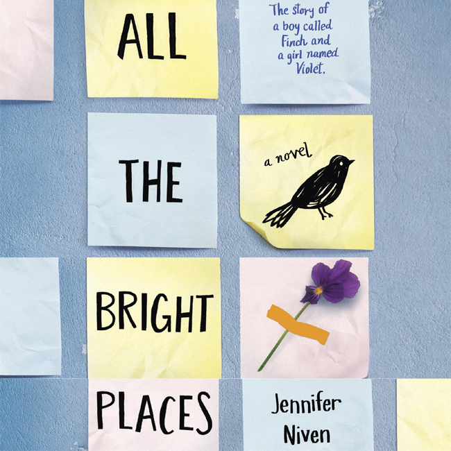 "Book Review: ""All the Bright Places"" By Jennifer Niven"
