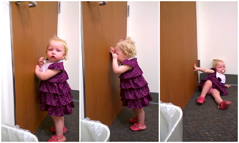 2-Year-Old 'Celebrates' Arrival Of Newborn Sister With Epic Tantrum