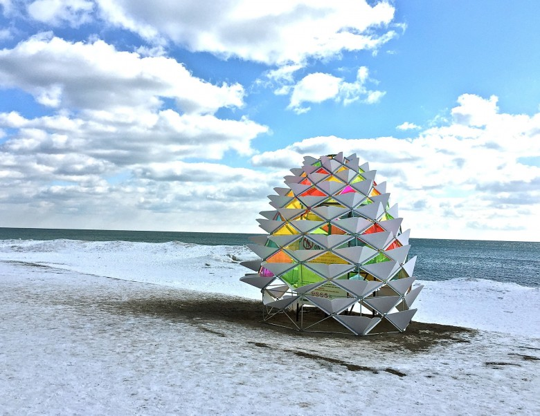 Winter Stations in Toronto. Photo credit: Sonya Davidson
