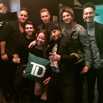 TD Music Greenroom at the JUNOS 2015 with artists Karl Wolf and Eleven Past One