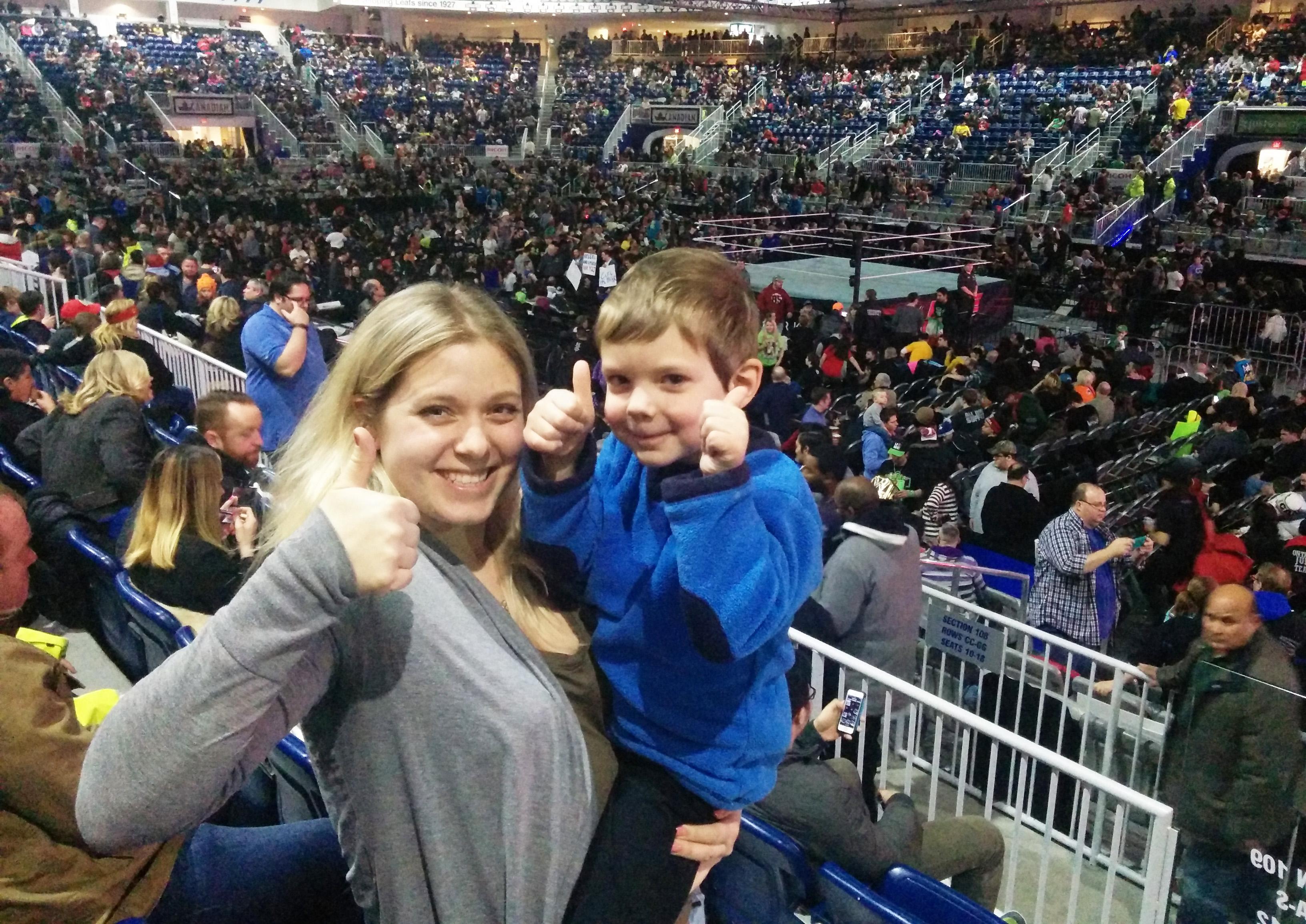 WWE Live Left My Nephew With Tears Of Joy