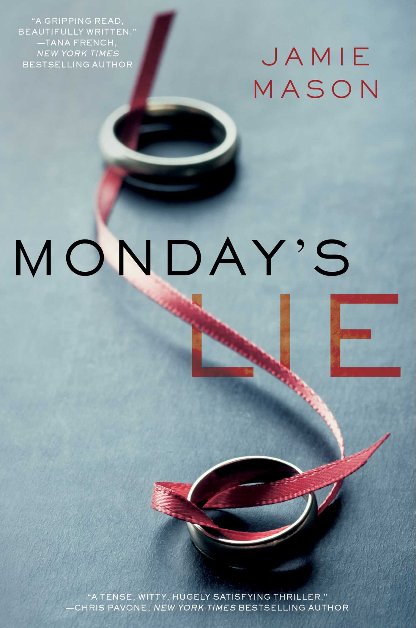 "Book Review: ""Monday's Lie"" By Jamie Mason"