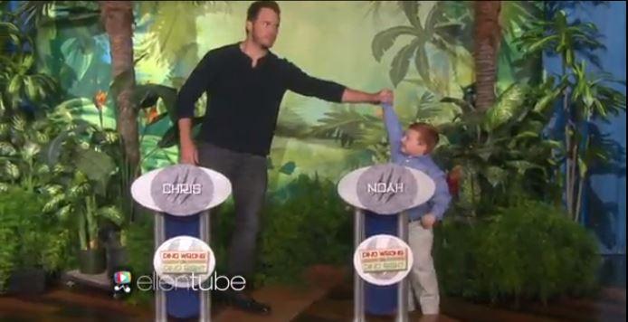 "Chris Pratt Takes On The ""Apparently"" Kid In Dinosaur Trivia"