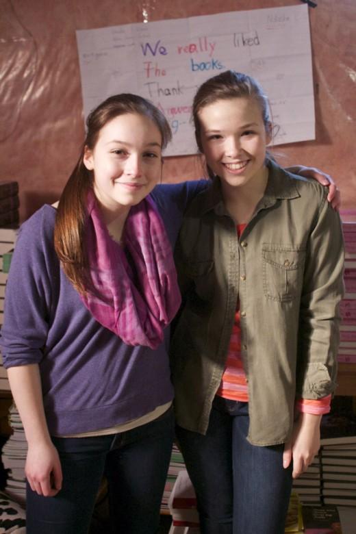 Julia and Emma Mogus