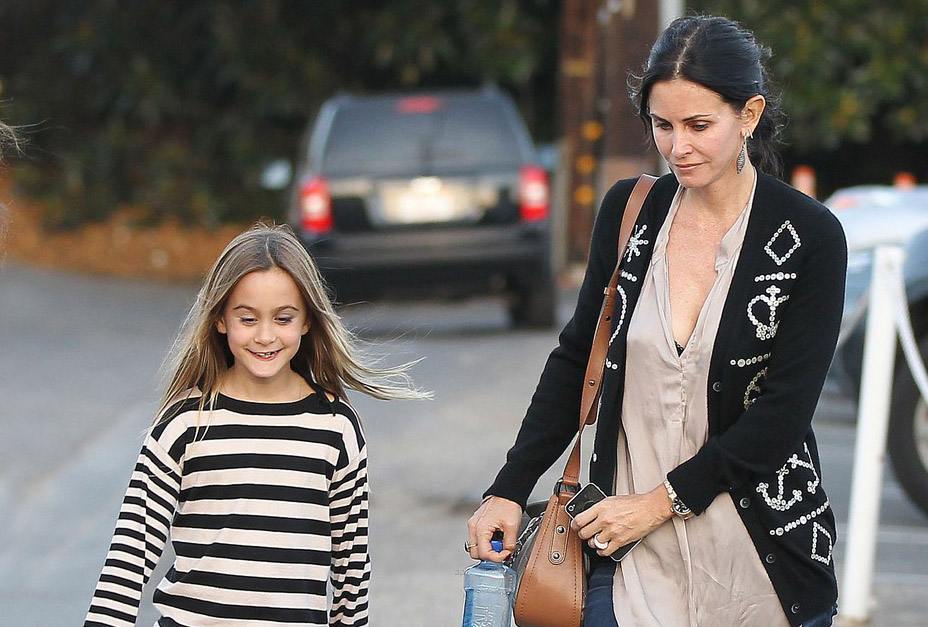 Courteney Cox Is Getting Married & Her Daughter Coco Is The Wedding Planner