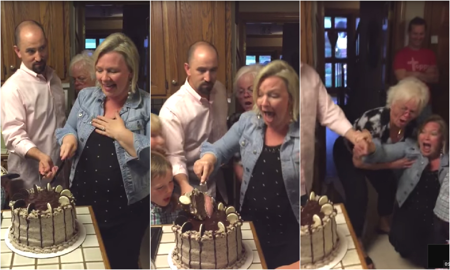 Mom Of 6 Boys Freaks Out When She Learns She's Having A Baby Girl