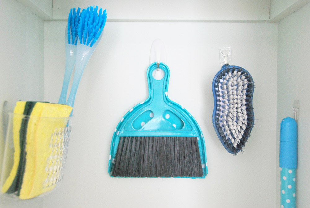 A Broom Closet Re-Haul With Command™ Brand