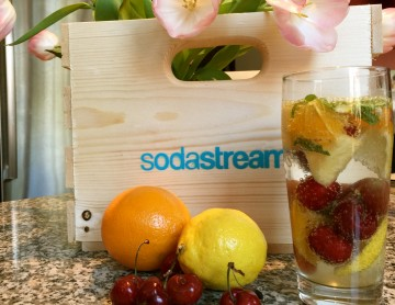 Infusing Drinks with sodastream
