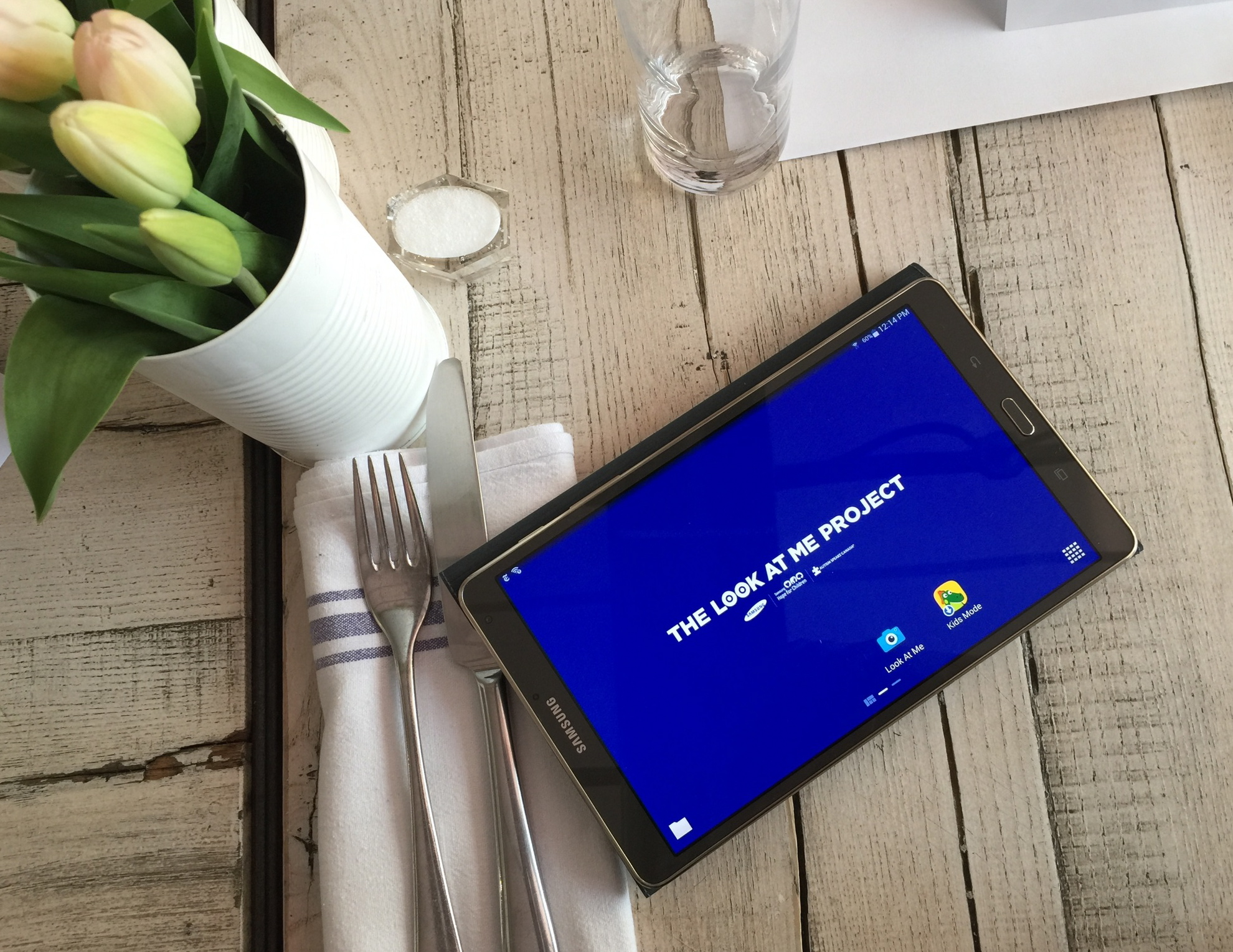 We're Celebrating The 'Look At Me' App And Giving Away A Samsung Galaxy Tablet