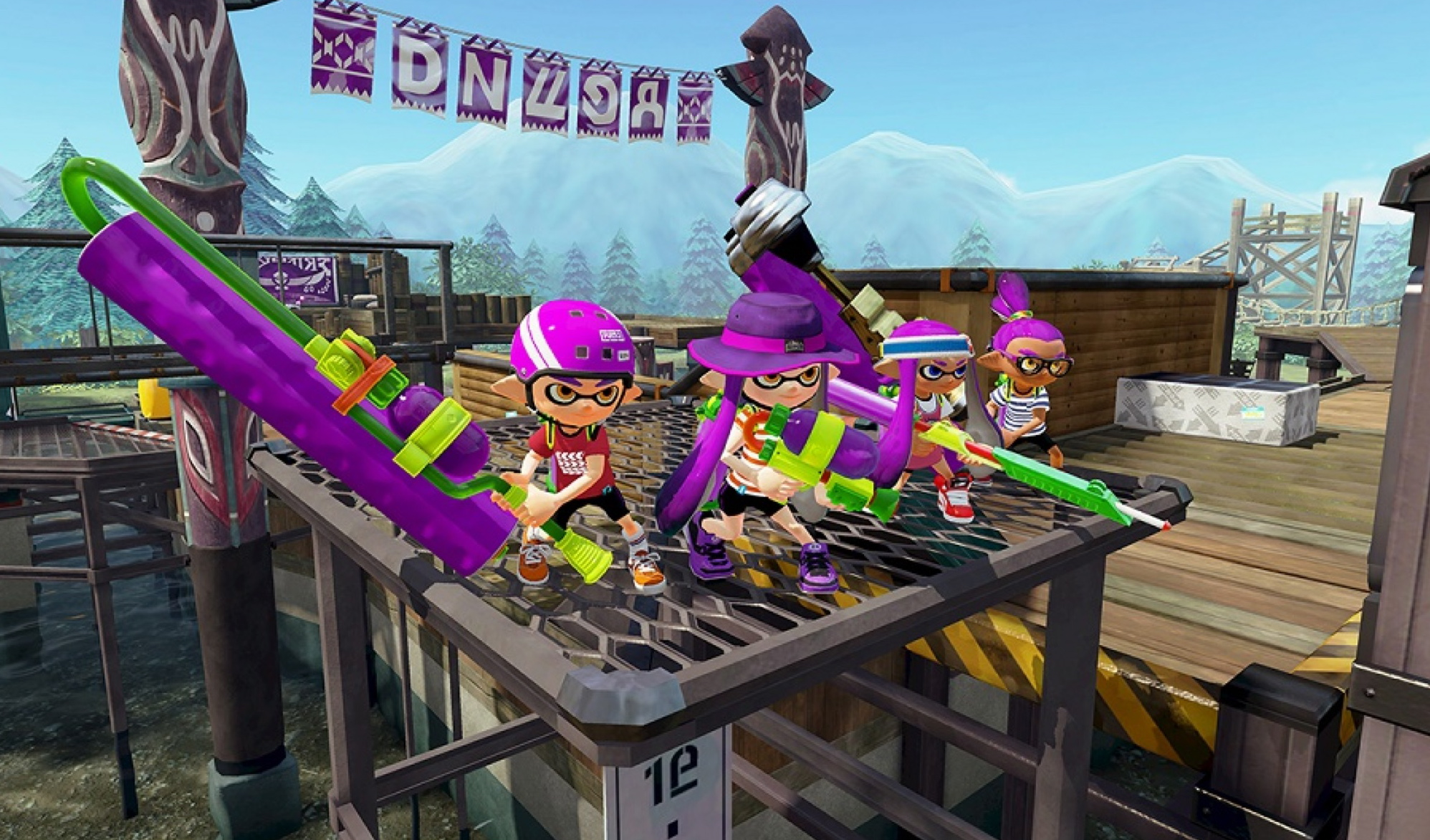 Getting Inked In Nintendo's New Splatoon