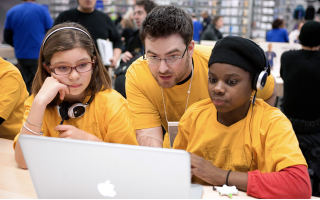 Registration For Free Apple Camp For Kids Opens
