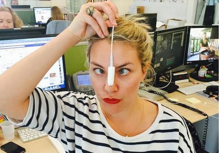 #JustATampon Selfies Seek To End Stigma Around Periods