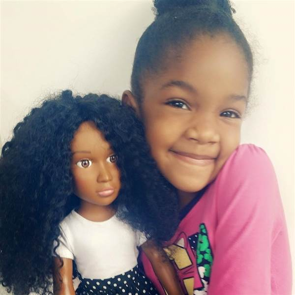 "Daughter's Desire To ""Look Like Barbie"" Spurs Mom To Create New Doll Line"
