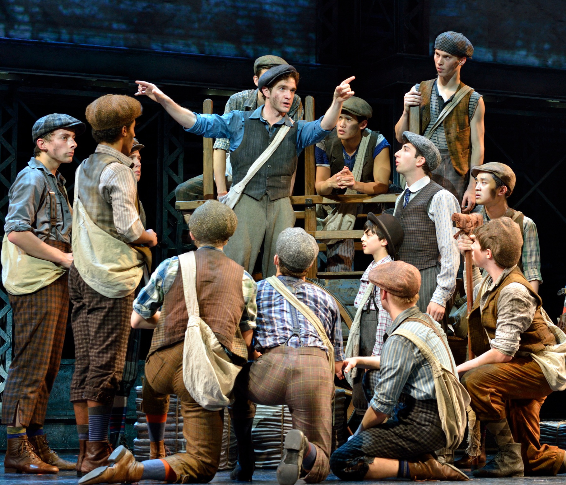 Disney's NEWSIES Comes To The Toronto Stage