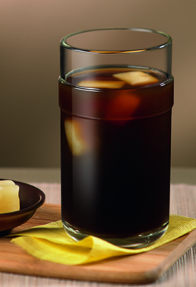 Iced Tropical Caramel Coffee recipe by Nespresso