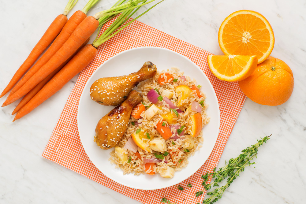 UrbanKitchen: Citrus & Sweet Orange Chicken Treat