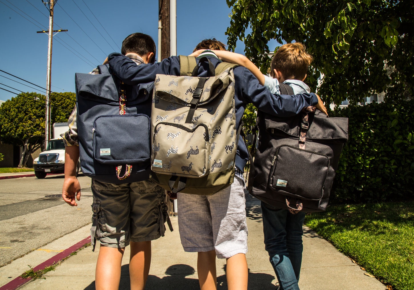 TOMS Launches Backpacks To Support Anti-Bullying