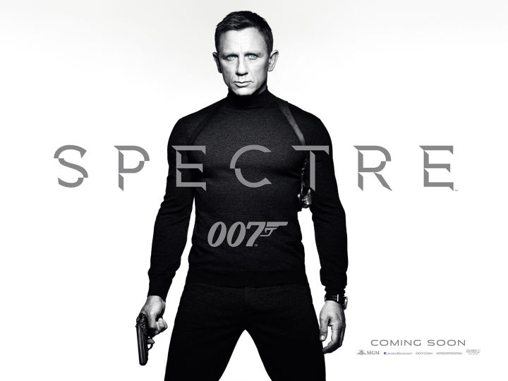The New James Bond SPECTRE Trailer Is Here!