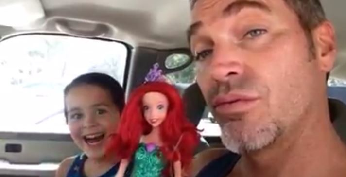 Dad's Reaction To Son Buying Doll Has Gone Viral